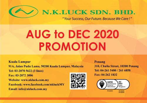 AUG to DEC 2020 PROMOTION